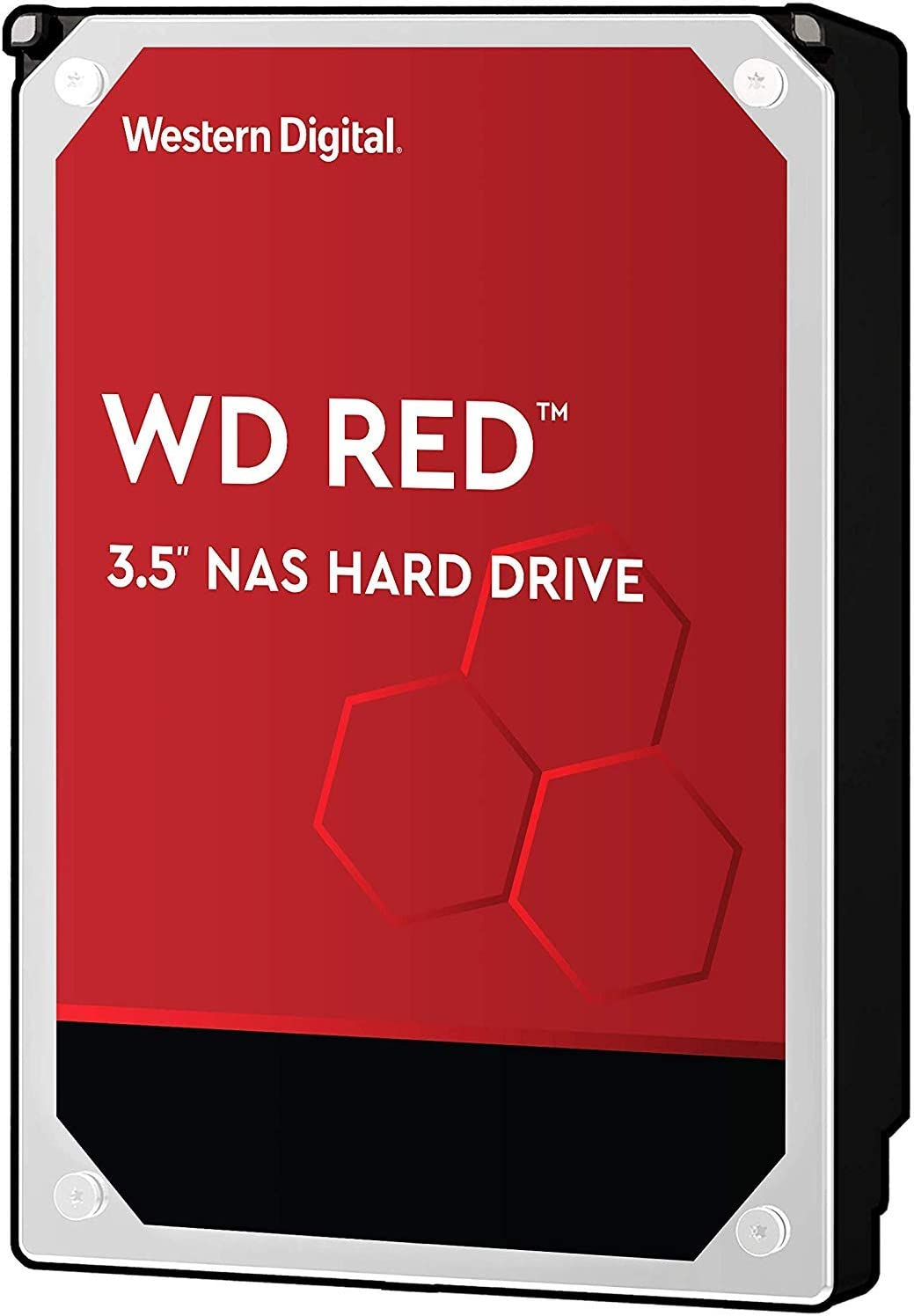 WD Red 2TB NAS Internal Hard Drive - 5400 RPM Class, SATA 6 Gb/s, SMR, 256MB Cache, 3.5