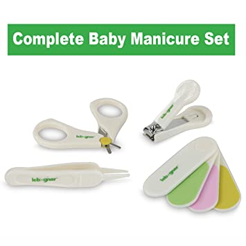 BABY CARE BABY MANICURE SET WITH SCISSORS /& NAIL CLIPPER CUTTER BABY CARE 0 age