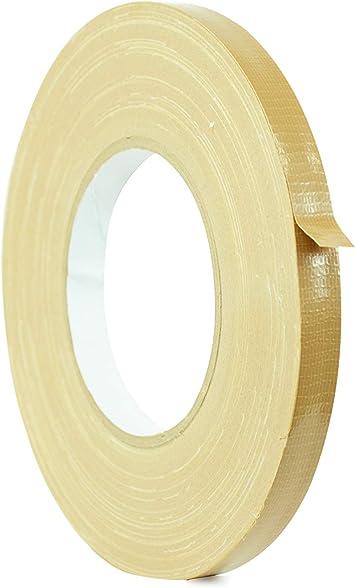 Waterproof UV Resistant Beige Industrial Duct Tape Tan 1 in X 60 Yd. T.R.U