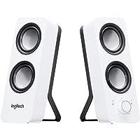 Logitech Z200 2.0 Altavoces Estéreo, 10 Vatios, Sonido Estéreo Detallado, Graves Ajustables, Conexión 2 Dispositivos…