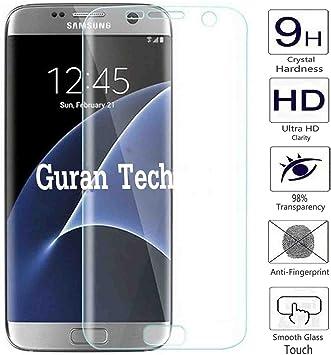 Guran® Protector de Pantalla Vidrio Cristal Templado Para Samsung Galaxy S7 Edge Smartphone [3D Full Coverage] Film: Amazon.es: Electrónica