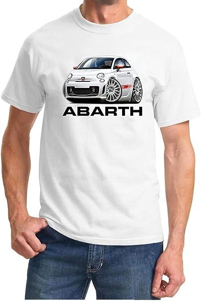 Abarth,Fiat500 Man/'s T-shirt tee Chose Colour