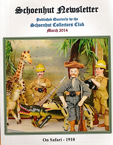 Schoenhut Newsletter: Detecting Repainted & Altered Humpty Dumpty Circus Pieces a two page article; one page article on Monkey Hats; three page article on Schoenhut Model 308 and 308X Dolls (Schoenhut Circus)