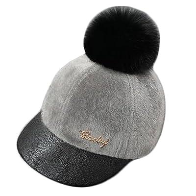 À la mode de l'hiver chaud de bébé Chapeau de baseball Cap Sun Protection Hat, E