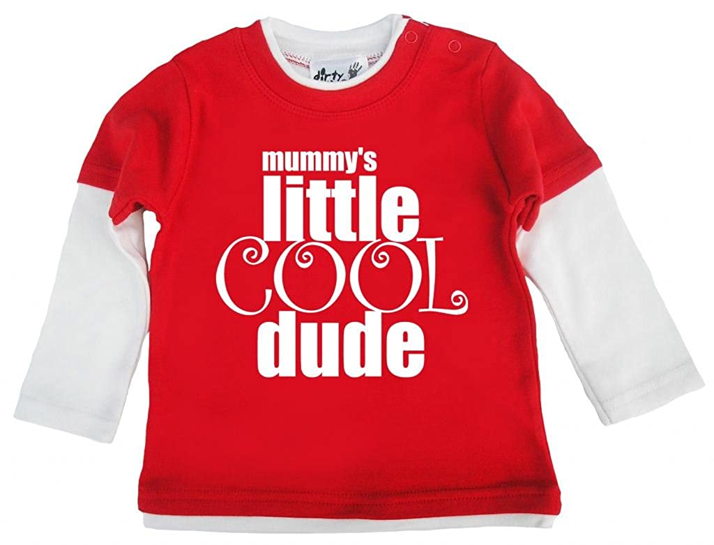 Baby Skater Top Mummys Little Cool Dude Dirty Fingers