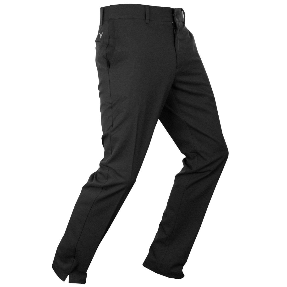 Callaway Golf Men's X Tech Trousers II Slim Fit Pant - US 36-32 - Caviar