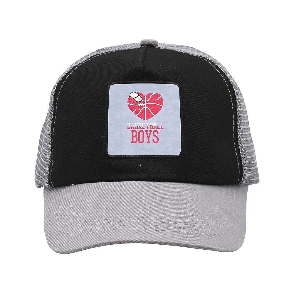 Adult Mesh Cap Hat Adjustable for Men Women Unisex,Print Basketball Art