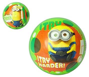 Amazon.com: Bola hinchable de plástico de Minion de 9.0 in ...