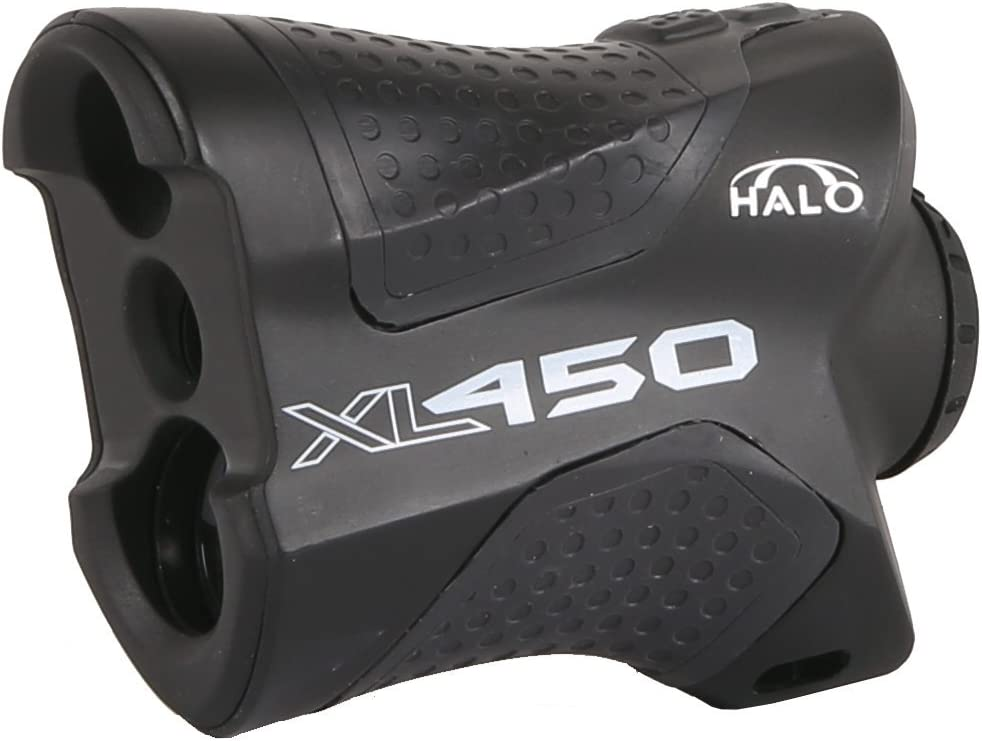 Halo Laser Range Finder With 6X Magnification, Features Angle Intelligence for Bow Hunting,Style: XL450 450 Yard Range