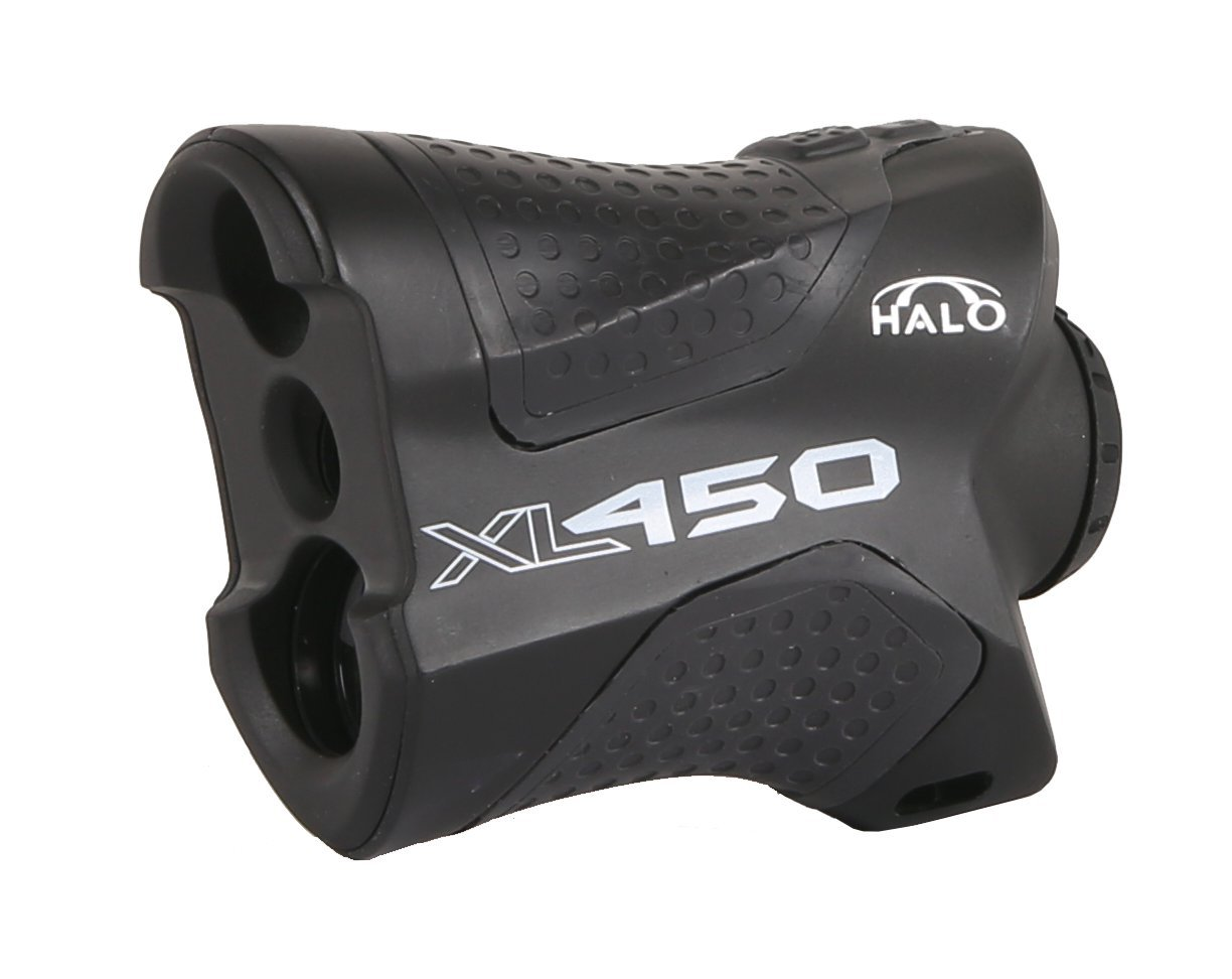 Halo XL450 Range Finder, 450 Yard laser range finder for rifle and bow hunting by HALO