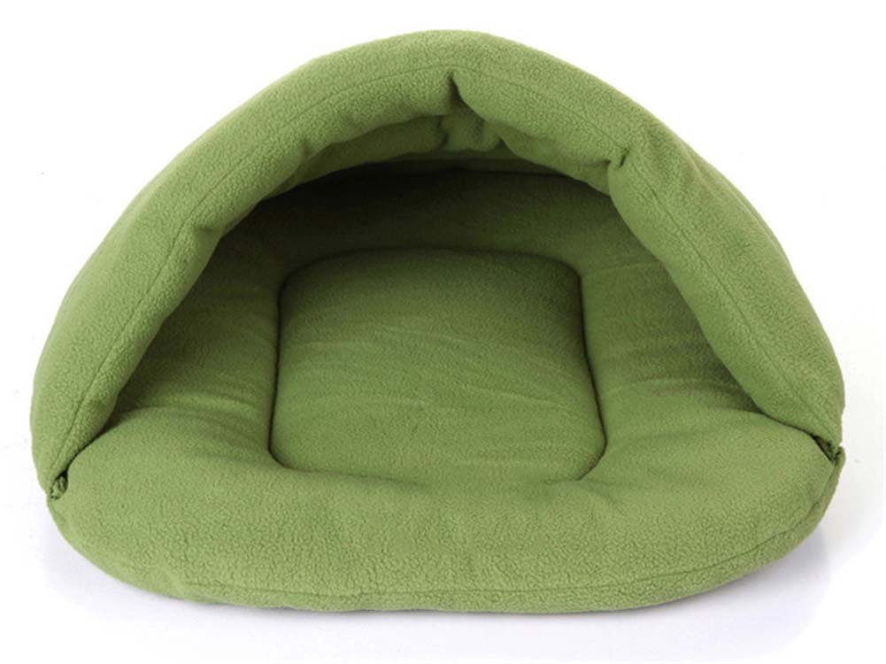 Green Large Green Large QAZSE Pet Sleeping Bag Pet Nest Pet House