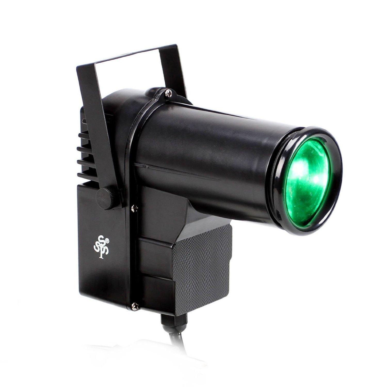 TSSS RGBW LED Strahler 10 Watt Pinspot DJ Effekt Bühnenbeleuchtung ...