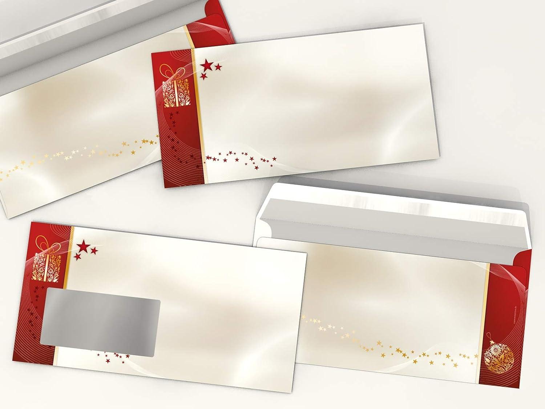 Weihnachts-Papier Set Goldene Weihnacht, 100 Blatt Motivpapier A4 A4 A4 und 100 Umschläge OHNE FENSTER B00G6NXJJ4 | Deutschland  98735b