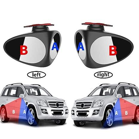 teamwin Auto ángulo muertas Espejo Auto Blind accesorios beweglicher Espejo 2 unidades para los Blind Spot
