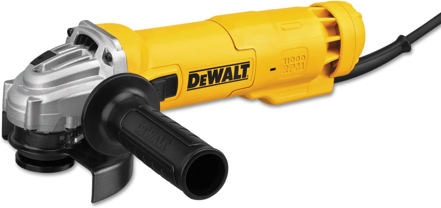 DEWALT Angle Grinder Tool, 4-1 2-Inch, Slide Switch, 11-Amp DWE4214
