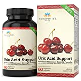 Uric Acid Support Formula | Advanced Uric Acid Cleanse & Kidney Support Supplement – Includes Tart Cherry Concentrate, Celery Seed Extract + 12 More High Potency Ingredients, 60 Veggie Capsules Review