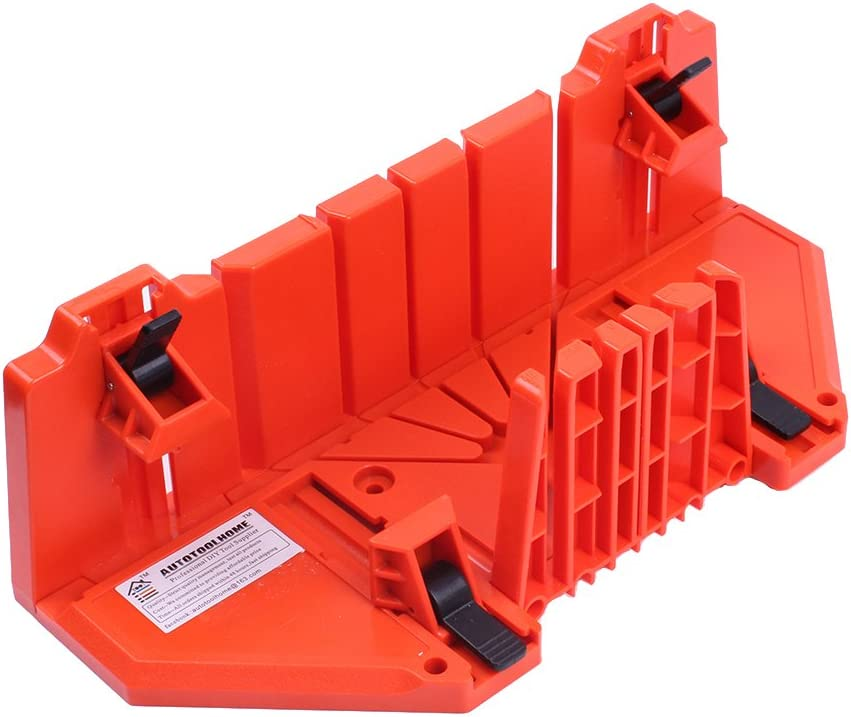 AUTOTOOLHOME マイターボックス クランプ式 マイターボックス