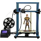 「新機種」HICTOP 3Dプリンター Reprap Prusa i3 DIYキット未組立 最大印刷サイズ 300*300*400mm 高精度 アルミニウム plaフィラメント少量付属 3dp-20 (3dプリンター(3DP-20))