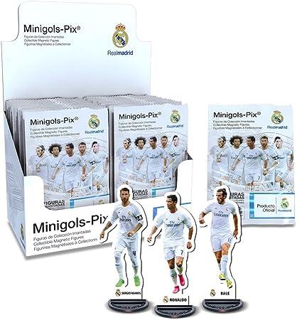 Real Madrid Minigols, colección de Figuras (Proyectum Sport Team 11RMA-1516-1): Amazon.es: Juguetes y juegos