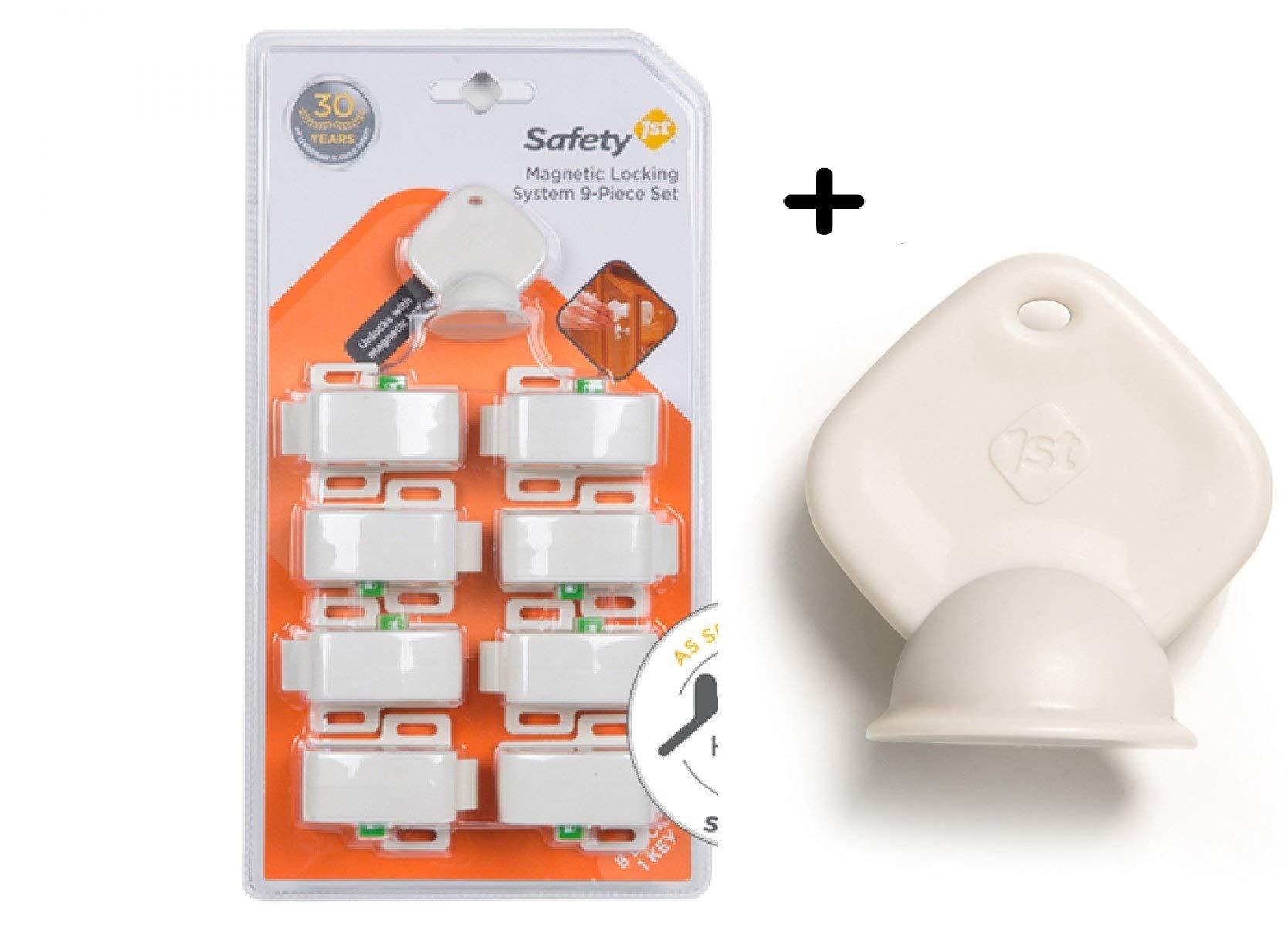 Safety 1st Magnetic Locking System 8 locks + 2 Keys by Safety 1st