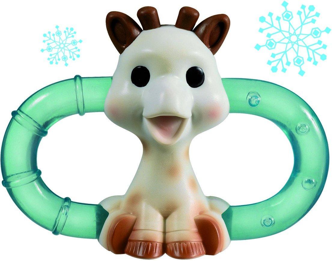 Gift Box Vulli Sophie The Giraffe Double Ice Bite Teething Ring