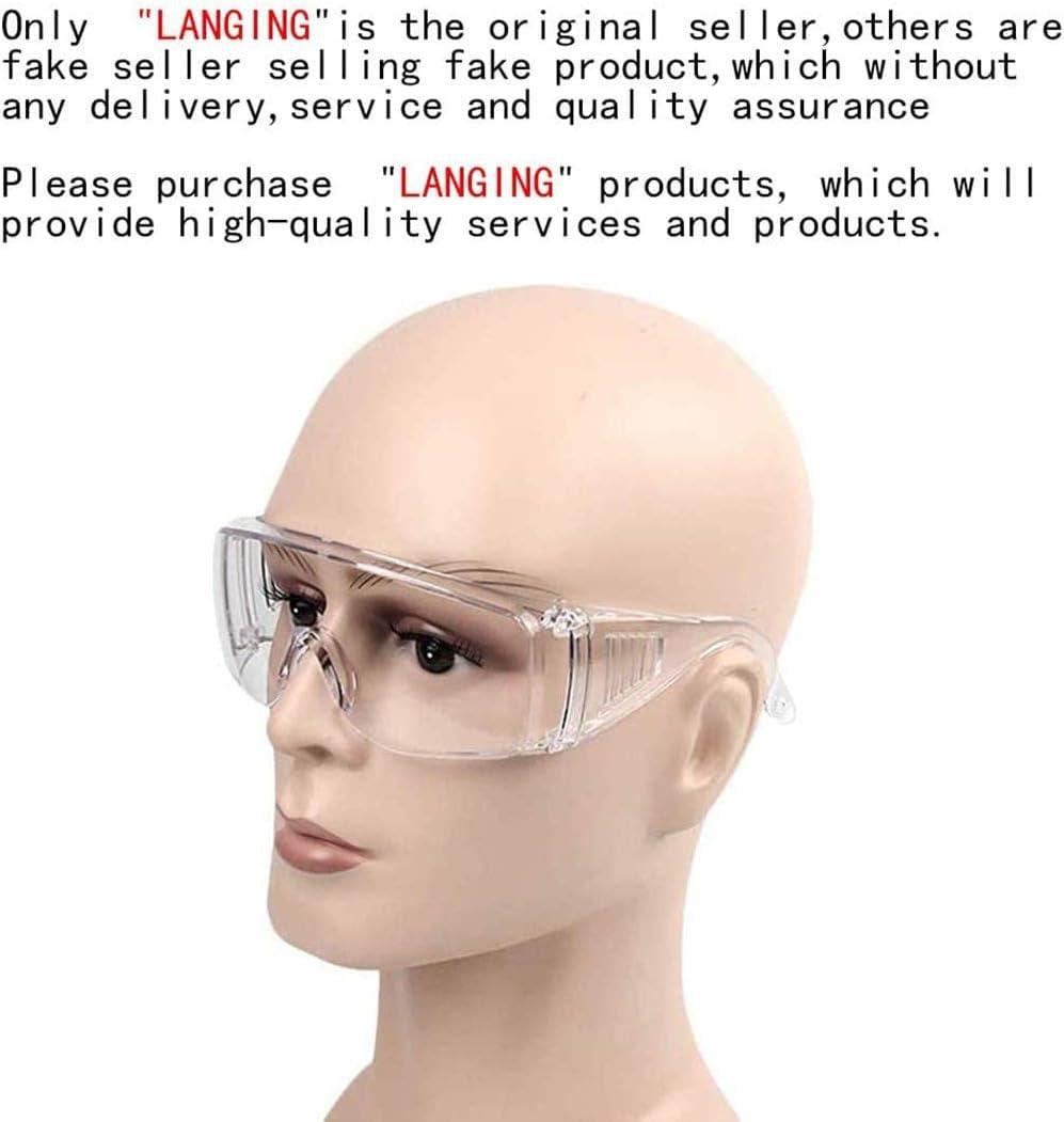 multifunci/ón antivirus antisaliva 1 gafas de seguridad antiarena unisex