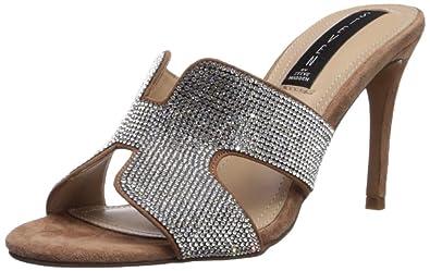 afc05d535b6 STEVEN by Steve Madden Women s Nylah-R Heeled Sandal Blush Multi 6 ...