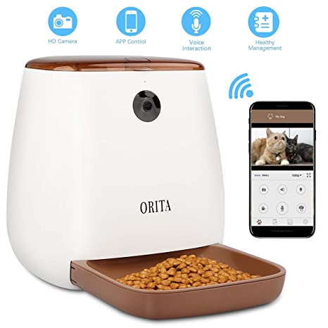 Amazon.com: Orita 12 comidas SmartFeeder Auto Pet perro y ...