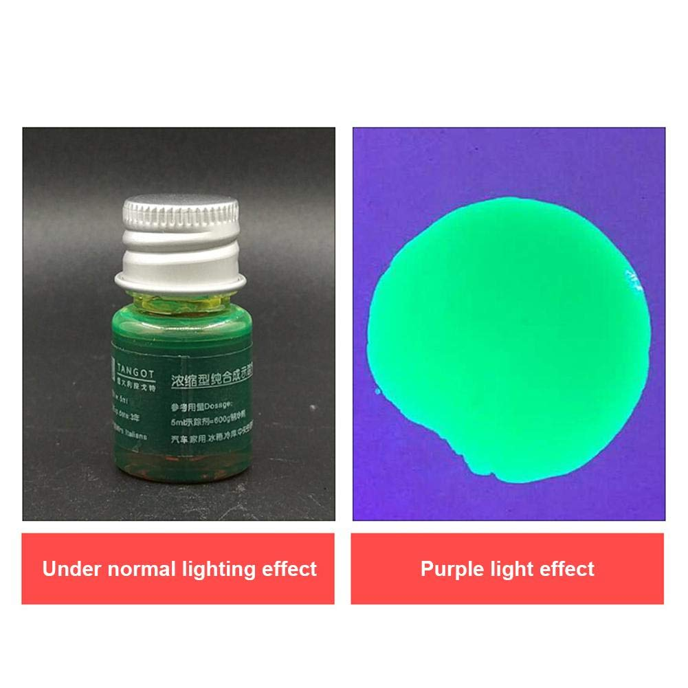 Conjunto De Herramientas para Gafas Protectoras con 21 Linternas UV De LED Kit De Detector De Prueba De Fugas del Sistema De A//C De Aire Acondicionado para Autom/óviles Linterna UV Luz Negra