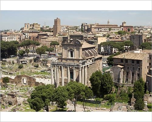 Photographic Print of Forum - Forum Ceasars