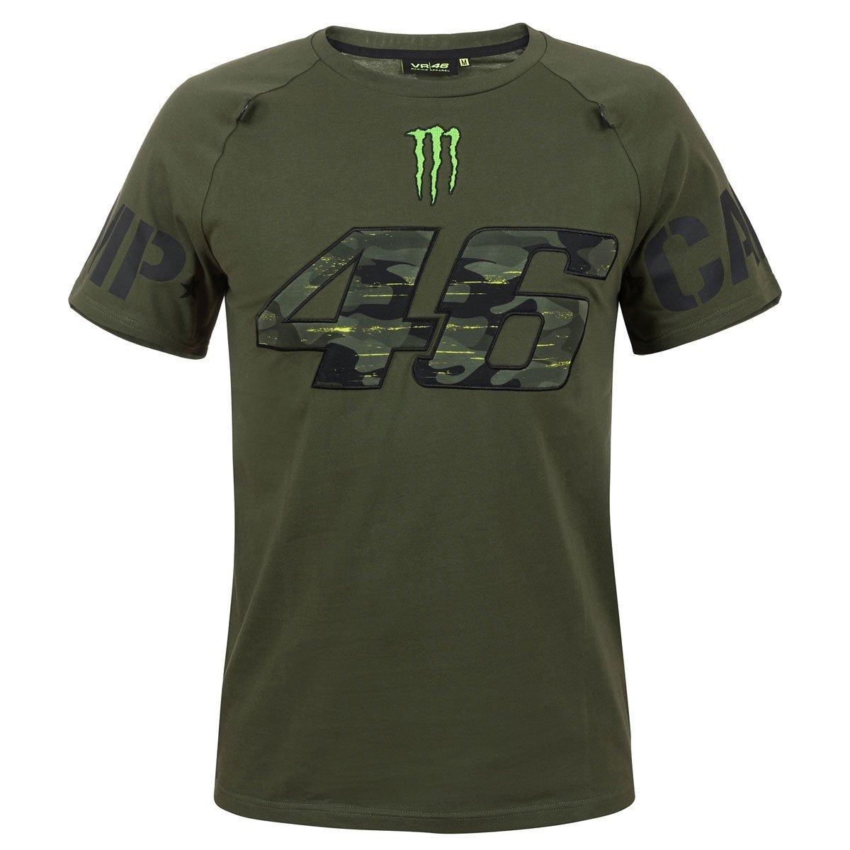 Valentino Rossi VR46 - Camiseta para Hombre Fan Artículo Monster ...