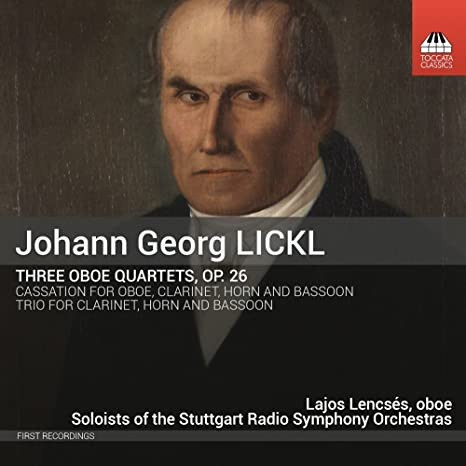 Quartetti Per Oboe E Archi, Cassazione: Lickl Johann Georg: Amazon ...