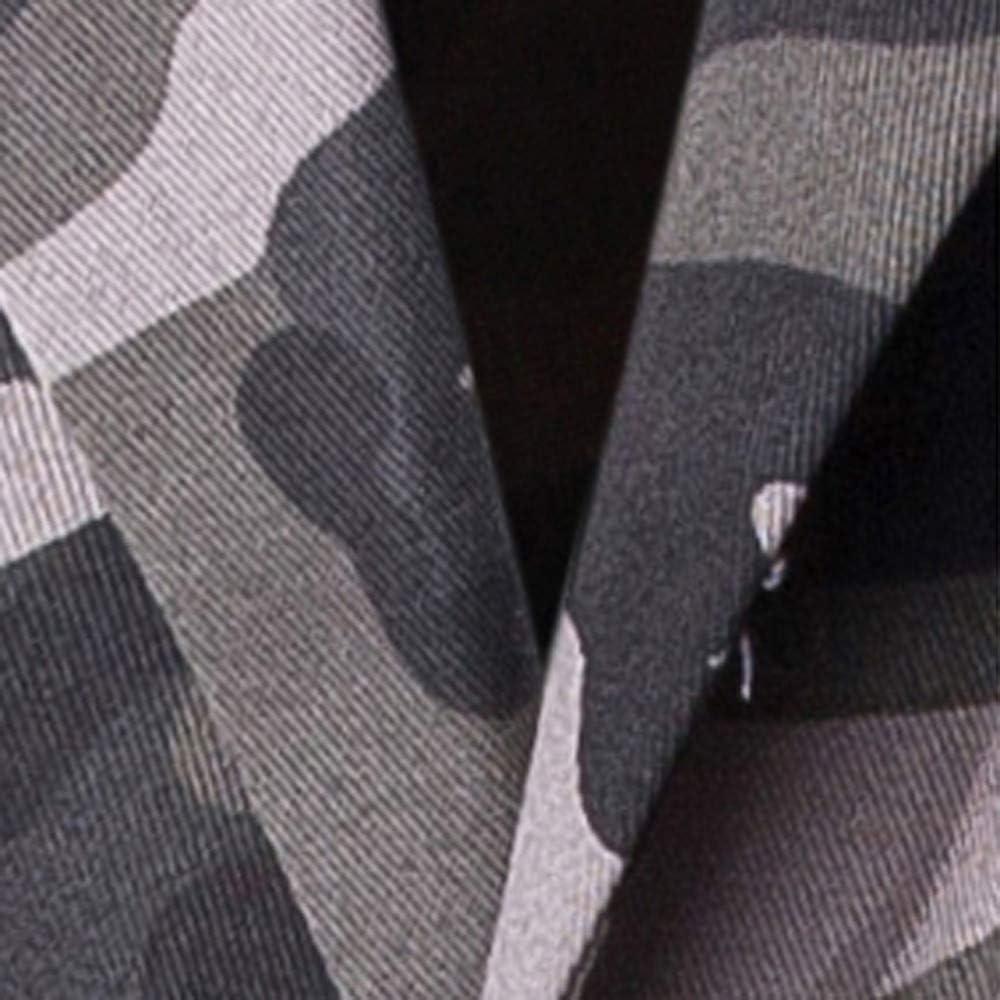 Herren Camouflage Drucken Sakko Blazer Slim Fit Winterjacke Freizeit Business Anzug Fashionable Completi Herrenanzug Knopf Smoking Anzug Mantel Bolero Jacke Trenchcoat Anzugjacken Smokingjacke Tops