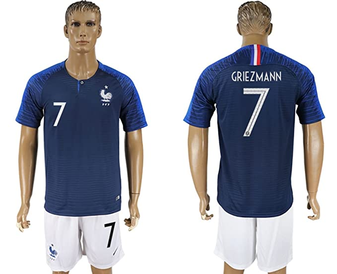2018 Russia World Cup France Home Mens Soccer Jersey  Amazon.ca  Clothing    Accessories 507893878