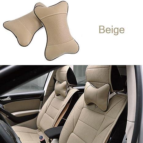 Amazon.com: amapower algodón cómodo piel asiento de coche ...