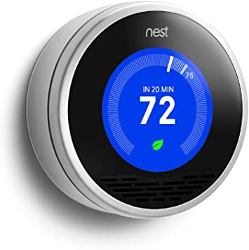 Amazon.com: Nest Learning Thermostat - 1st Generation T100577 ...