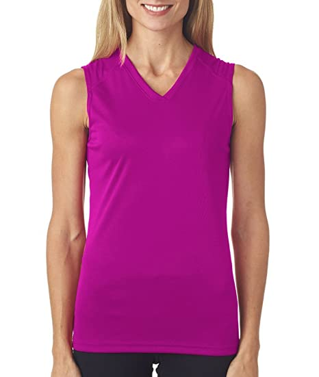 d7e2a2e20874 Image Unavailable. Image not available for. Color: Custom Badger Womens B-Core  Sleeveless Performance Tees ...