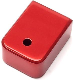 JWH Custom Heavy Extended Anodized RED Aluminum Magazine Glock Base Plate