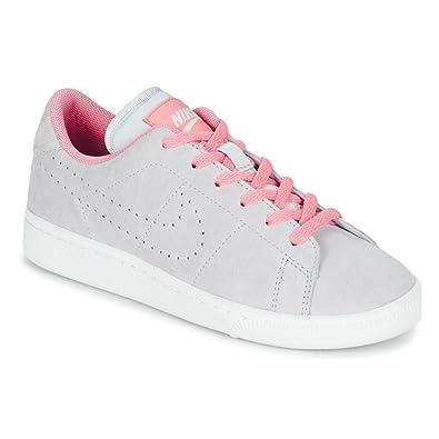 Nike , Jungen Tennisschuhe grau grau, grau grau Größe