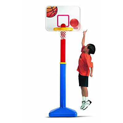 Little Tikes Adjust N Jam Basketball Set: Toys & Games