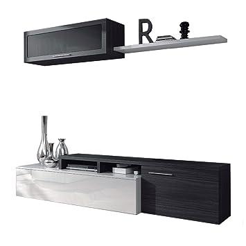 Habitdesign 016667G - Mueble de salón comedor moderno, medidas ...
