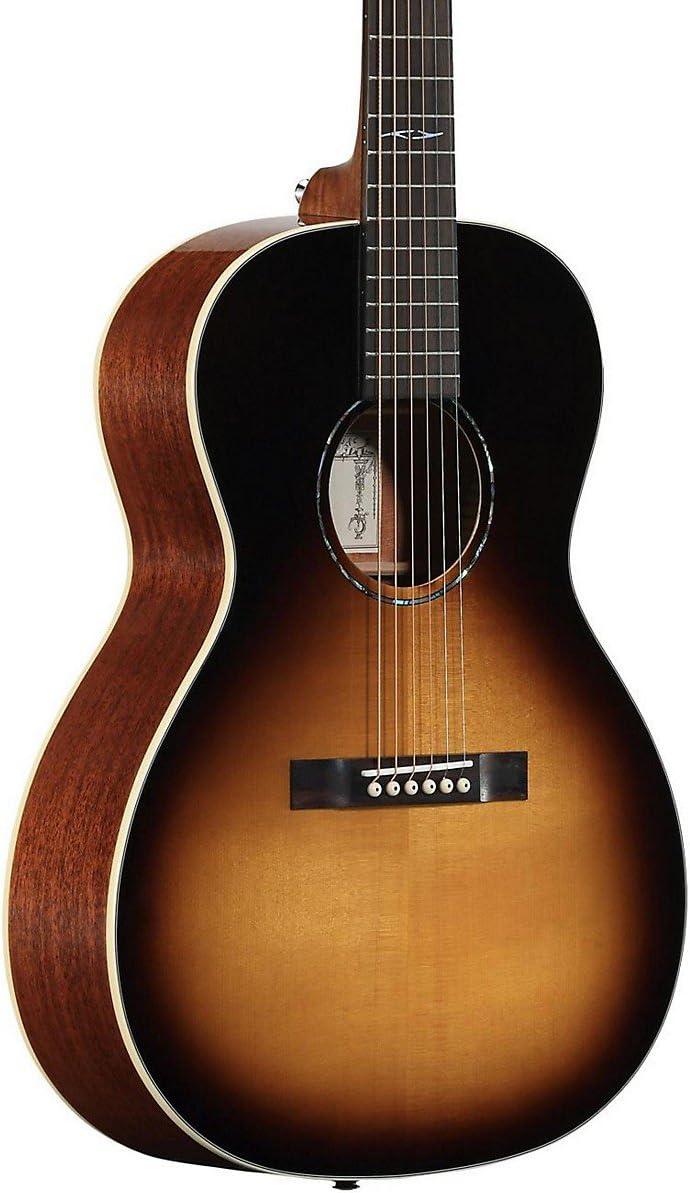 Alvarez DELTA00E/TSB - Guitarra acústica profesional escalonada azul tradicional: Amazon.es: Instrumentos musicales