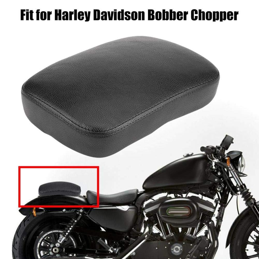 ventosa in pelle per motocicletta Cuscino passeggero posteriore per schienale Black 8 Suction Cup Sedile a ventosa per motocicletta