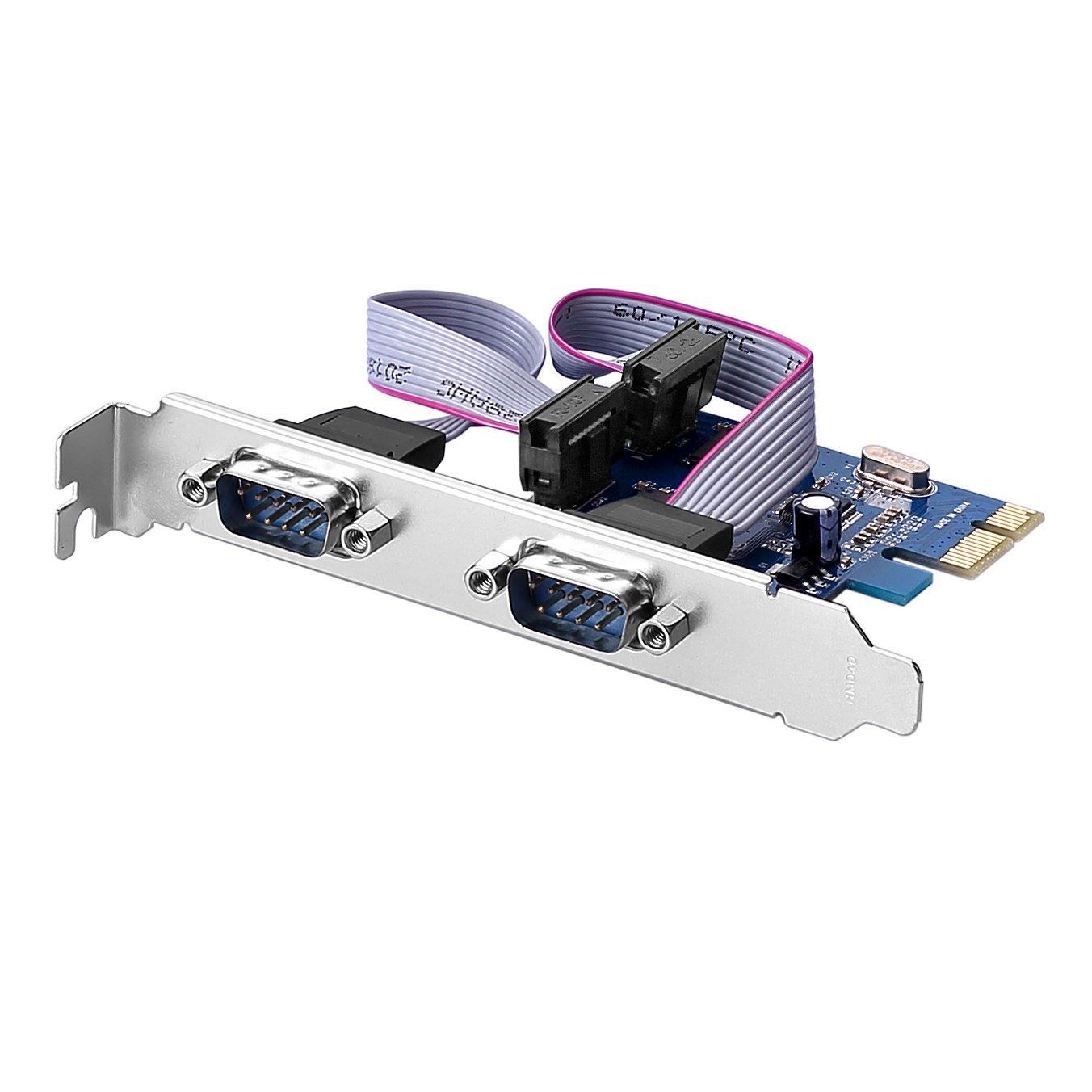SIENOC PCI (PCI-E TO 2 x RS232 Card)