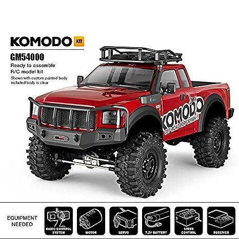 Amazon Com Gmade 54000 Komodo Gs01 4wd Off Road Adventure Vehicle