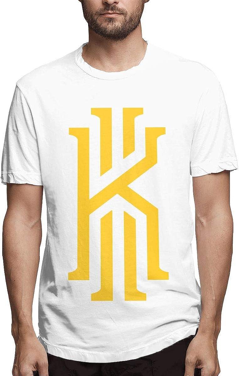 Camiseta de Manga Corta para Hombre con Logo clásico y Cuello en O para Hombre, Color Negro Blanco Blanco XL: Amazon.es: Ropa y accesorios
