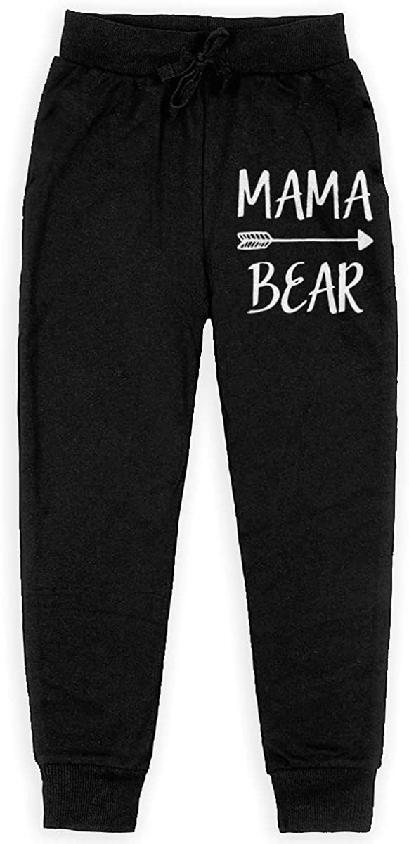 Boys Sweatpants Mama Bear Joggers Sport Training Pants Trousers Cotton Sweatpants for Youth