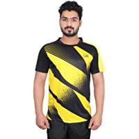 Vector X VRS-008 Sublimation T-Shirt (Black-Yellow)