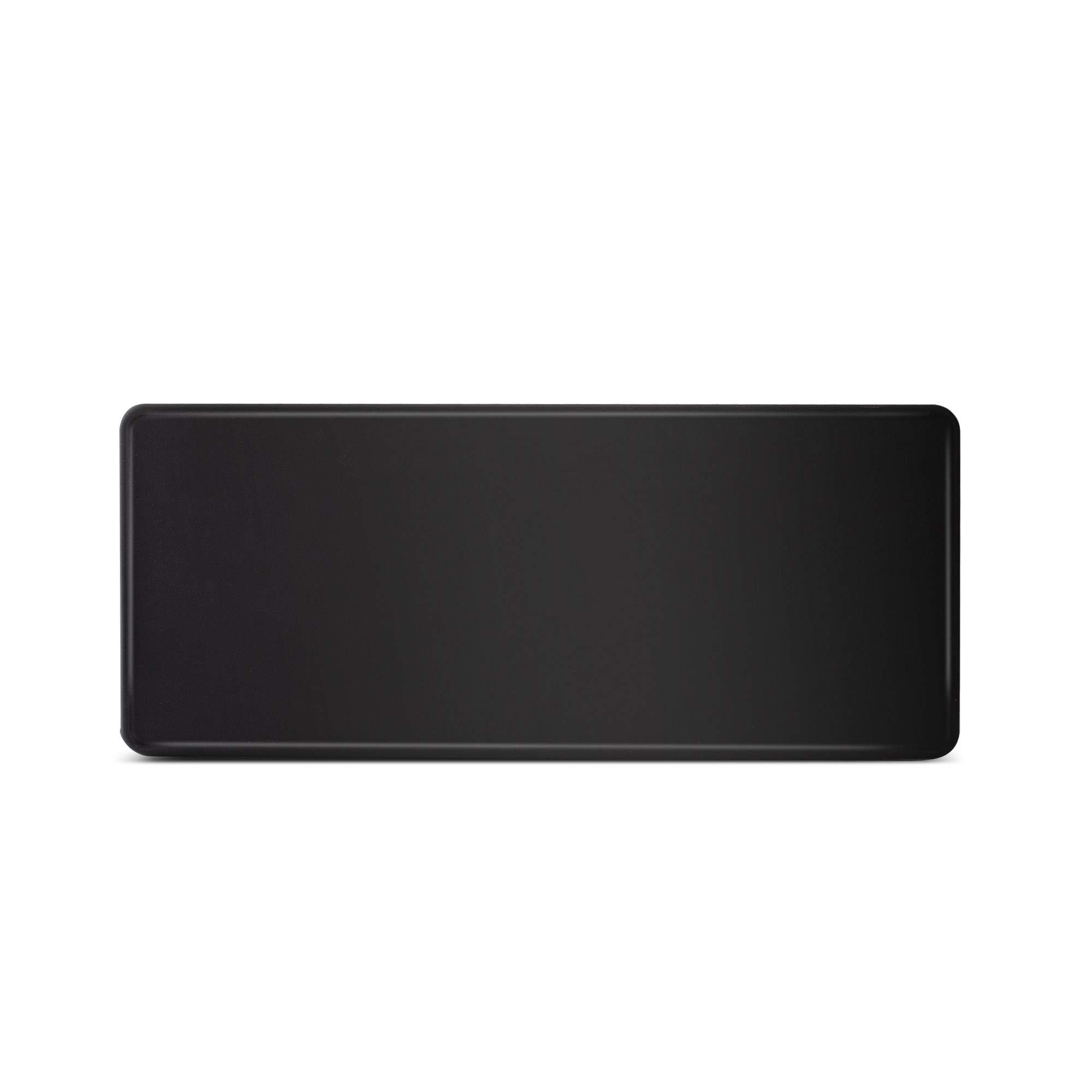 Espresso Parts EP6030A Barista Basics Rectangular NBR Rubber Tamping Mat, 5X12'', Black by EspressoParts