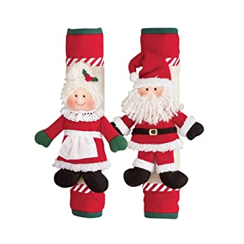 Mr And Mrs Claus Appliance Handle Covers